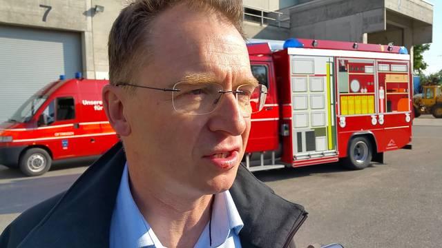 «Ich war gerade am Rasieren»: Jacques Hartmann, Geschäftsführer der KVA Oftringen, erzählt, wie er vom Brand erfahren hat. Er ist vor allem froh, dass niemand ernsthaft verletzt oder gar getötet wurde.