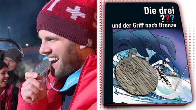 Medaillenfeier Ski-Cross / Vorschau Slalom