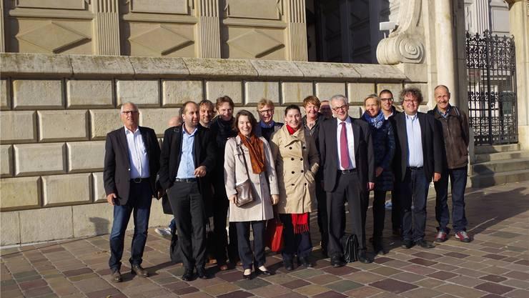 Die Solothurner Delegation auf Stadtbesichtigung.