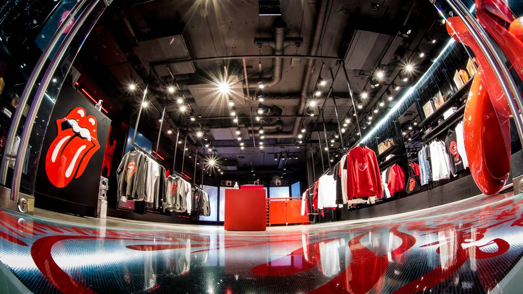 Rolling Stones eröffnen Flagship Store in London
