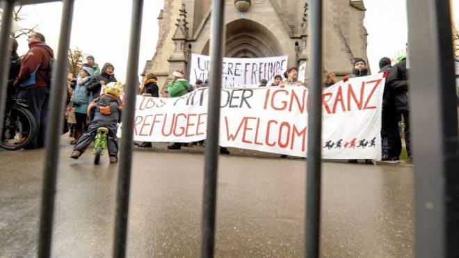 Nach der Besetzung der reformierten Matthäuskirche streiten sich nun Vertreter der beiden Landeskirchen. Foto: Martin Töngi