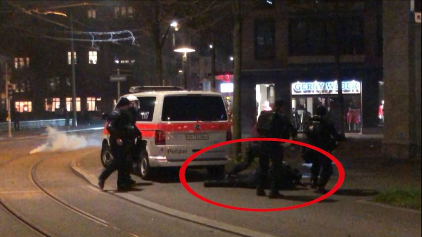 Anti-WEF-Demo in Zürich eskaliert