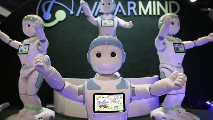 Roboter als Spielgefährten und Babysitter: der iPal soll berufstätige Eltern entlasten.