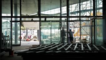Campussaal in Brugg/Windisch: Die Landeskirchen geben den Studierenden Rat