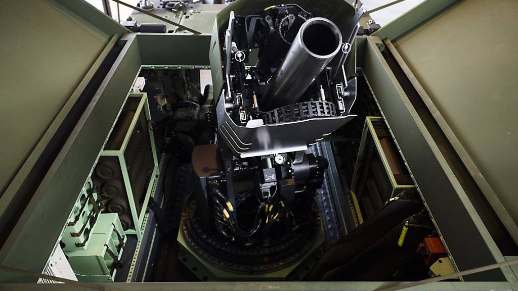 Die Armee darf 32 neue Granatwerfer kaufen. Diese waren im Nationalrat der einzige umstrittene Rüstungskauf. (Archivbild)