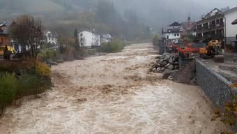 Wassermassen in Friaul: Heftige Regenfälle machen Italien zu schaffen.