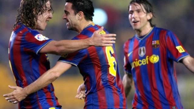 Die Barça-Profis gaben sich keine Blösse