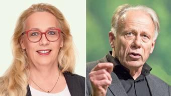 Anke Trittin politisiert in der Schweiz für die Grünliberalen, Jürgen Trittin in Deutschland für die Grünen.