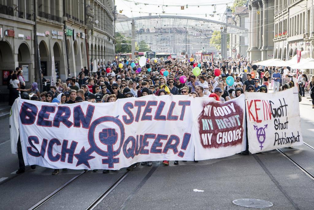 «Marsch fürs Läbe» in Bern