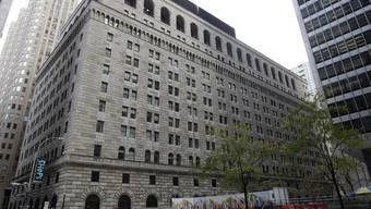 Das Gebäude der US-Notenbank Federal Reserve in New York (Archiv)