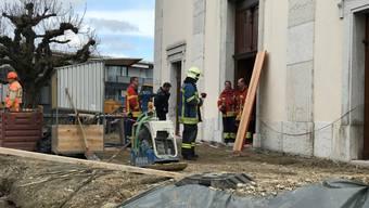 Brandanschlag in Eusebiuskirche