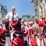 Er konterte die Provokation des EU-Botschafters: Bundespräsident Ueli Maurer hielt an der Fête des Vignerons eine 1.-August-Rede.