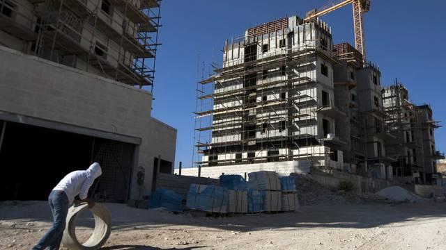 Bauarbeiten an einer israelischen Siedlung in Ost-Jerusalem (Archiv)