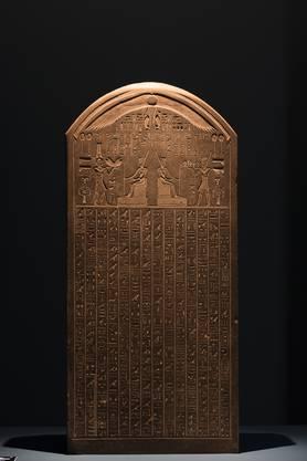 Diese Stele aus dem Jahr 380 v. Chr. löste ein 2000-jähriges Rätsel: Die Inschrift machte klar, dass Thonis und Herakleion dieselbe Stadt waren.