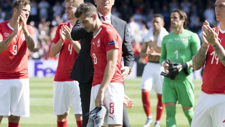 Das Schweizer Nationalteam büsst nach den Niederlagen am Finalturnier der Nations League in der Weltrangliste einen Platz ein