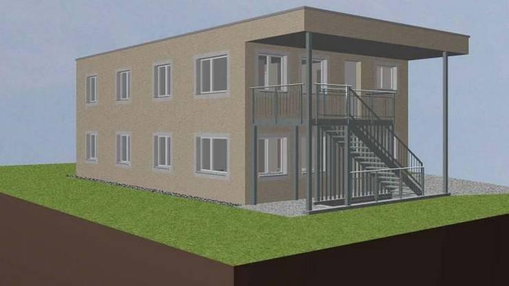 Zweckbau: Im neuen Asylzentrum sollen maximal 25 Personen untergebracht werden.