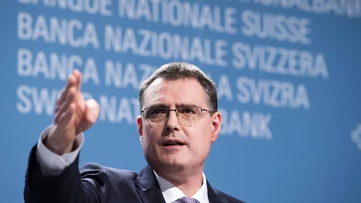 """Unsere Geldpolitik ist richtig"": Nationalbank-Präsident Thomas Jordan. (Archivbild)"