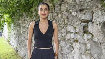 Zahraa Ghandour am Locarno-Filmfestival.