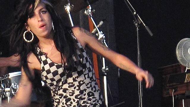 Amy Winehouse auf der Bühne