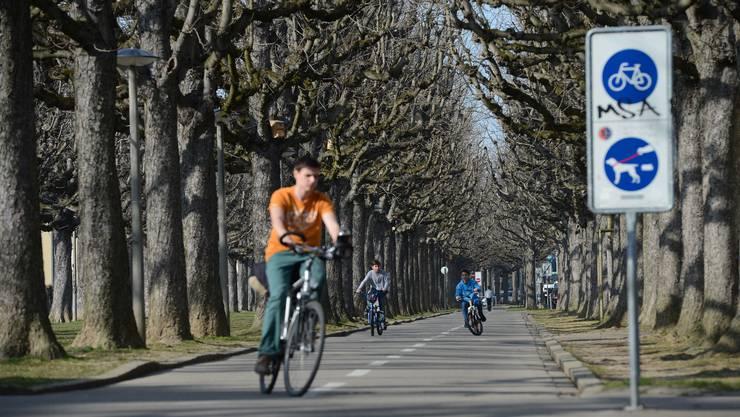 In Basel wird mehr Velo gefahren als auch schon. (Symbolbild)