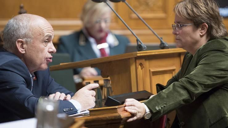 Nominiert die SVP-Fraktion Nationalrätin Magdalena Martullo, wenn Bundesrat Ueli Maurer zurücktritt?