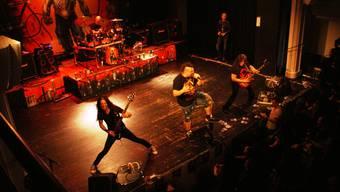 Gonoreas rockten mit vielen weiteren Bands das Wohler Casino. Roger Wetli