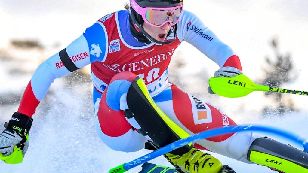 Tanguy Nef fuhr bei seinem Weltcup-Debüt gleich in die erweiterte Weltspitze