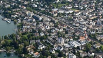 Hier ereignete sich die Tat: Küsnacht am Zürichsee (Symbolbild)