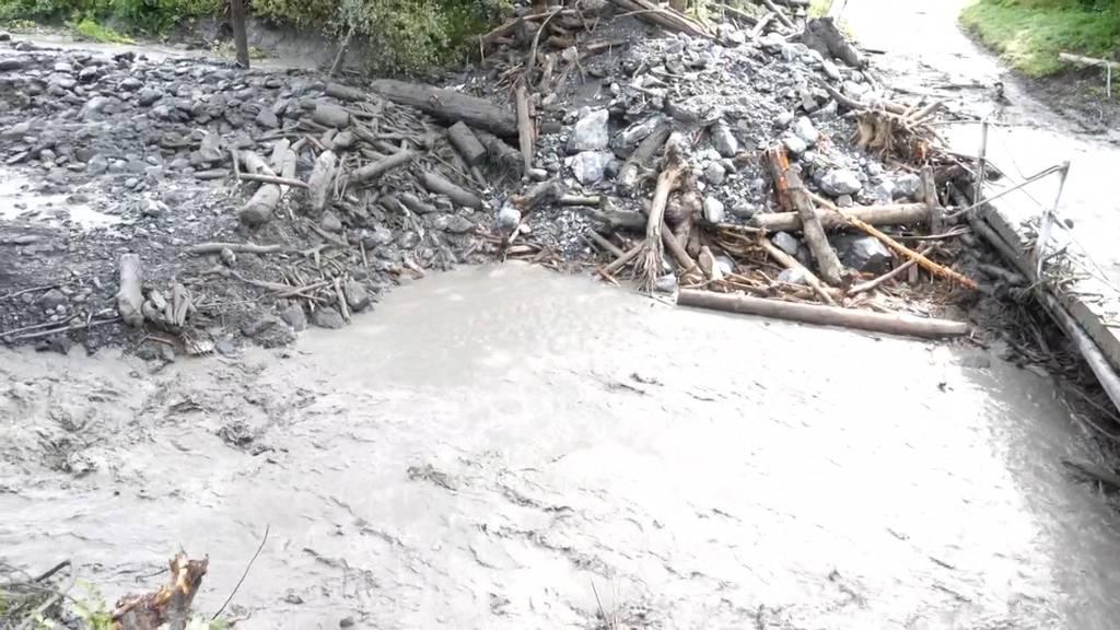Schwere Gewitter fordern zwei Tote im Unterwallis