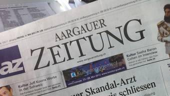 Aargauer Zeitung kommt heute später