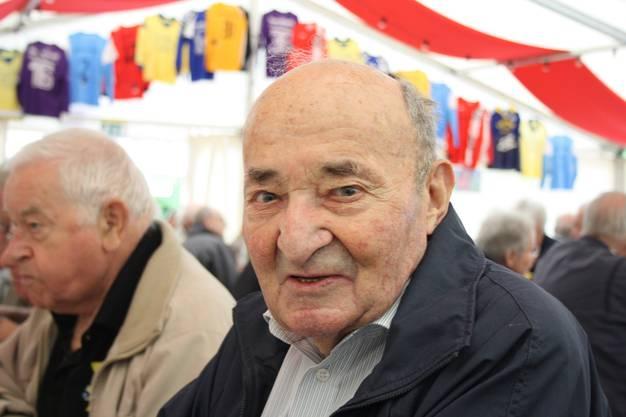 Alfred Huber ist mit seinen 95 Jahren einer der ältesten Teilnehmer am «Widerluege».