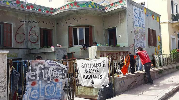 Ein Ausgleich vom tristen Alltag im «Solidarity Cafe».
