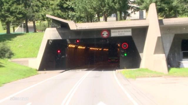 Zweite Gotthardröhre und Sicherheit