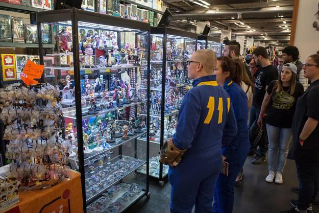 Die Fantasy Basel lockt Fans unterschiedlichster Nischen in die Messehallen.