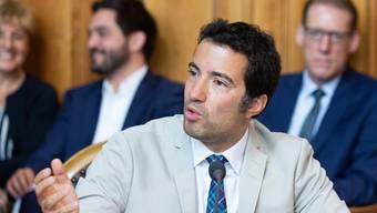 Der Ausserrhoder FDP-Ständerat Andrea Caroni spricht im Ständerat.