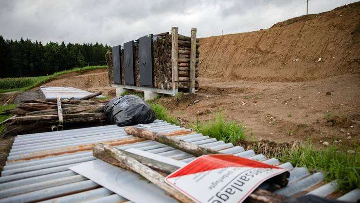 213 Schiessanlagen müssen im Kanton saniert werden, diejenige in Steinhof (Gemeinde Aeschi) gehört zu den ersten, die bereits saniert werden.