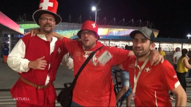 Schweizer WM-Auftakt: Ein Unentschieden-Sieg