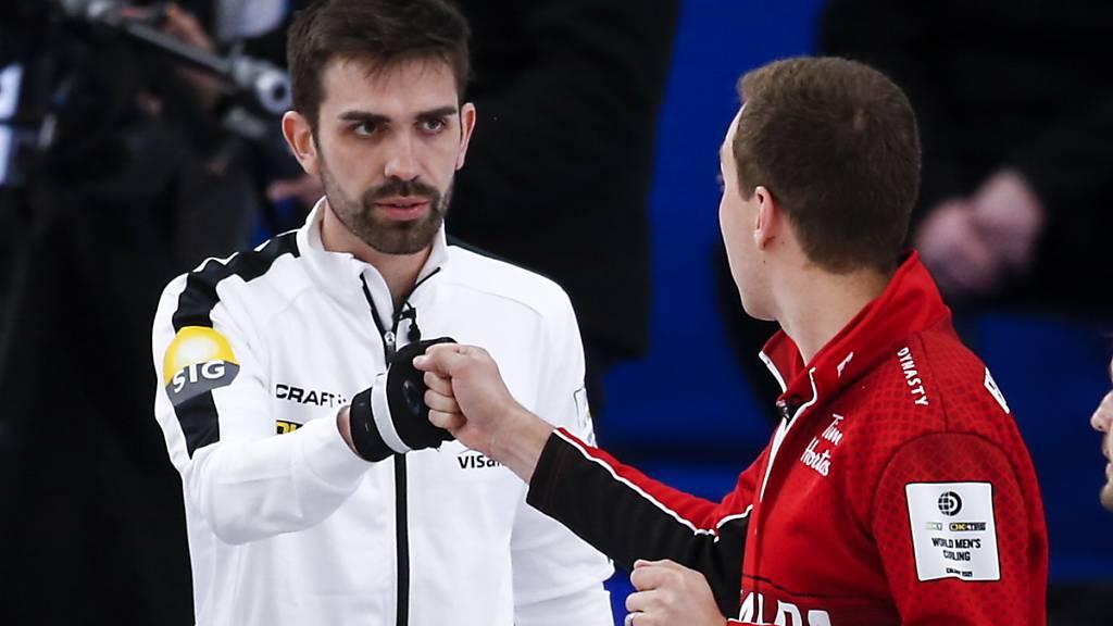 Schweizer Curler machen auch vor Kanada nicht halt