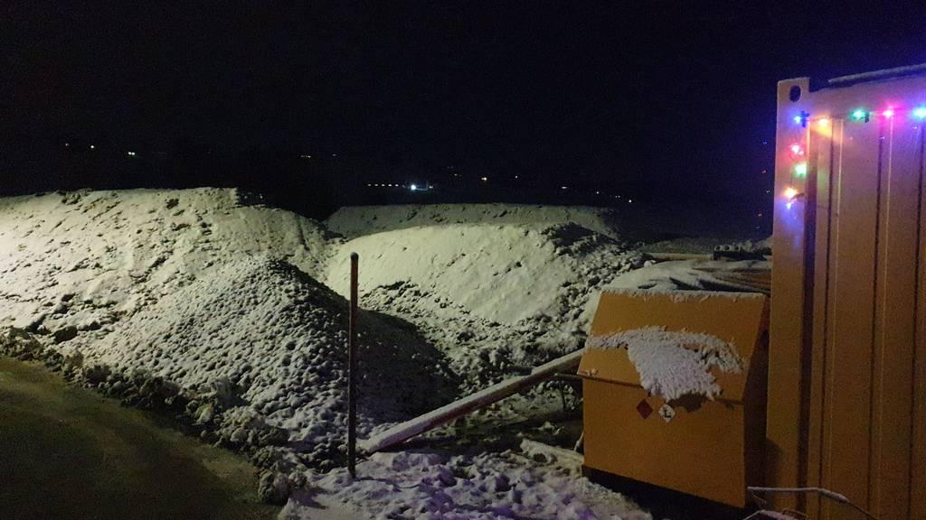 Die Schneebilder aus dem FM1-Land