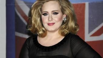 Teilt ihre Familienplanung der ganzen Welt mit: Sängerin Adele will ihre Konzertpause nutzen, um ein Baby zu machen. (Archivbild)