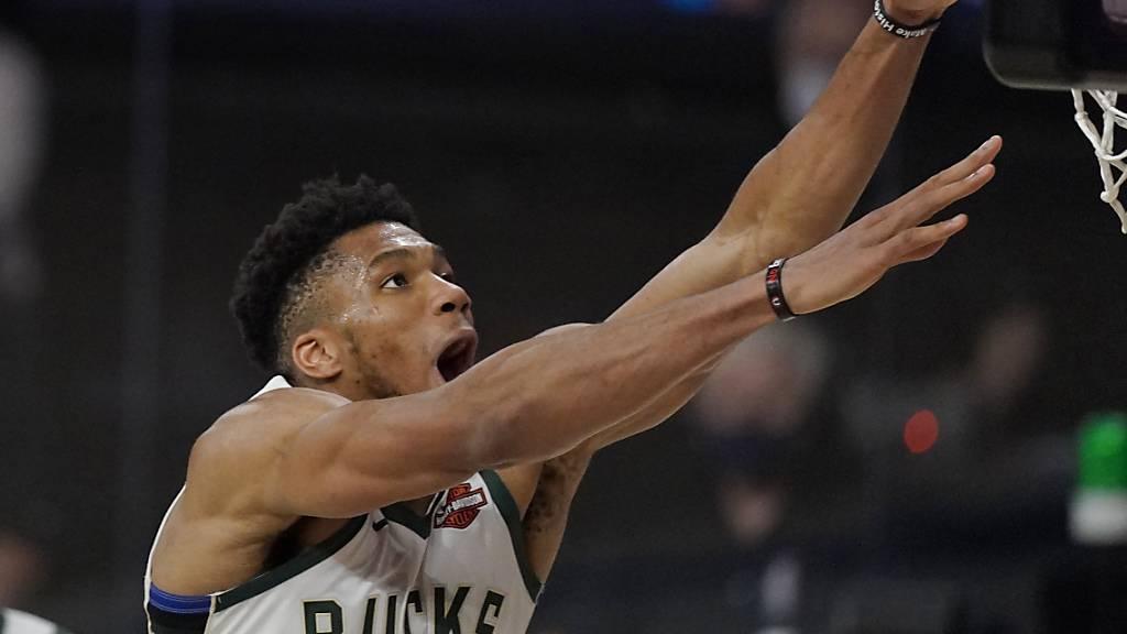 NBA: Antetokounmpo zum zweiten Mal in Folge MVP