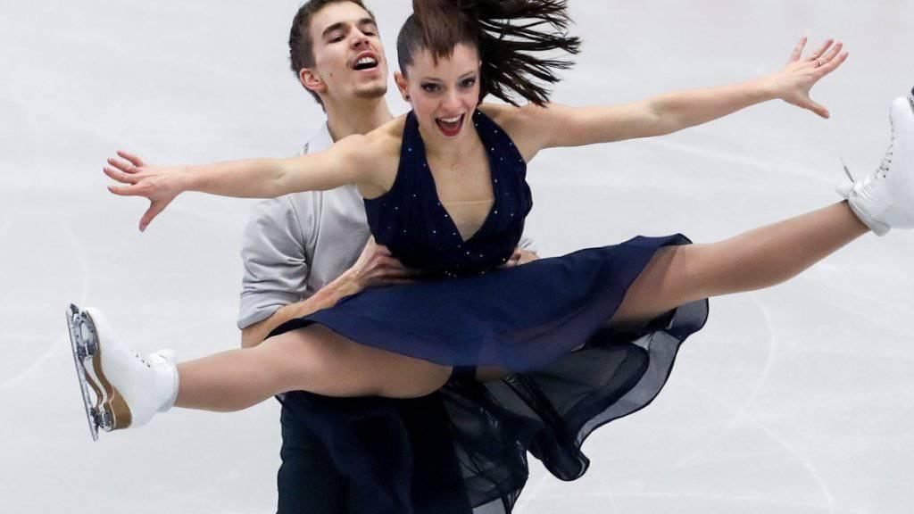 Victoria Manni und Carlo Röthlisberger schafften es nicht in die Kür