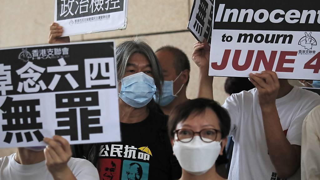 Bekannter Hongkonger Aktivist Joshua Wong festgenommen