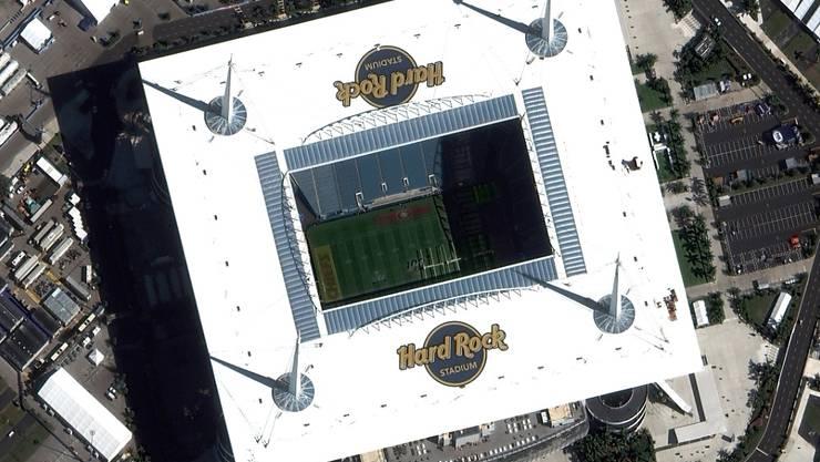 Austragungsort der Super Bowl 2020 ist das Hard Rock Stadium in Miami