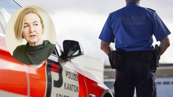 Polizeidirektorin Susanne Schaffner sorgt bei den Anwältinnen und Anwälten mit ihrer Aussage für Erstaunen.