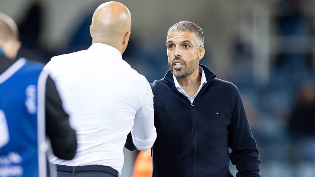 Das erste Duell zwischen Luzerns Fabio Celestini und Feyenoords Arne Slot ging am letzten Donnerstag klar an den Niederländer.