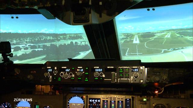 Swissair-Piloten fliegen mit Trump nach Zürich