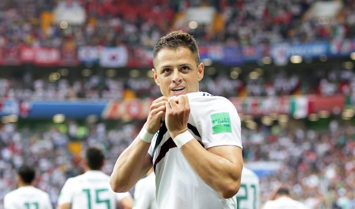 Javier «Chicharito» Hernandez, Albian Ajetis Konkurrent bei West Ham, wechselt zum FC Sevilla.