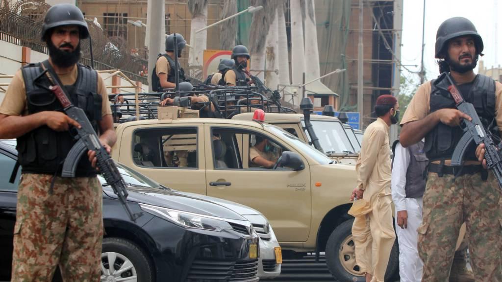 Mindestens sieben Tote bei Angriff auf pakistanische Börse