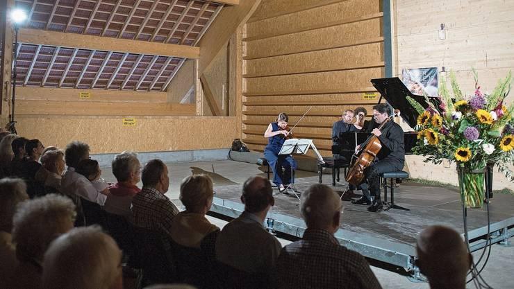 In der Chamau Hünenberg waren unter anderem düstere Werke von Antonín Dvořák und Leoš Janáček zu hören.